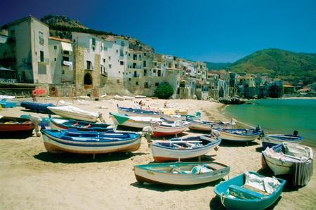 spiaggie in sicilia-cefalù-