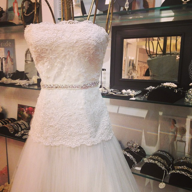 Rosa Clara at Designer Loft. #weddings #weddingdresses #nycbridalshops