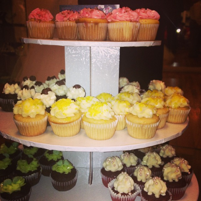 The Adorable Chef. www.theadorablechef.com #chef #cupcakes #weddings