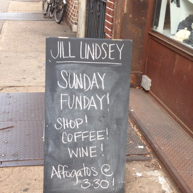 Come stop by at Jill Lindsey-Brooklyn!