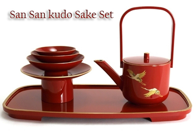 san_san_kudo_sake_set_red1