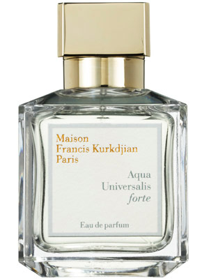 Ten best unisex french fragrances world bride magazine for Aqua universalis forte maison francis kurkdjian