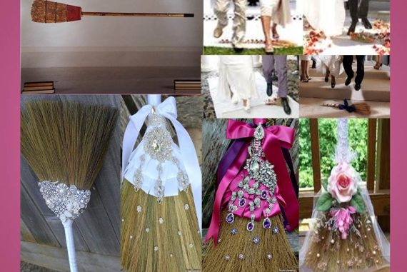 Jumping The Broom A Beautiful Symbolic Wedding Tradition World Bride Magazine