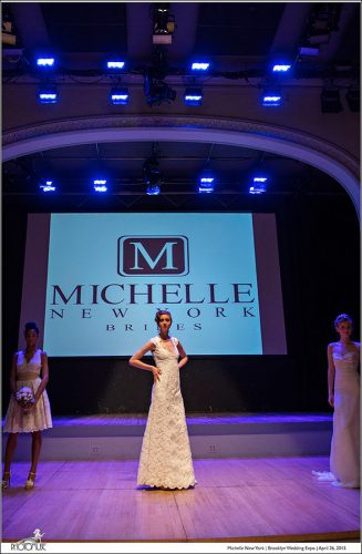 Michelle New York at the Brooklyn Wedding Expo at Roulette Performance & Event Space in Brooklyn, N.Y. on April 26, 2015. Photography by Photomuse.
