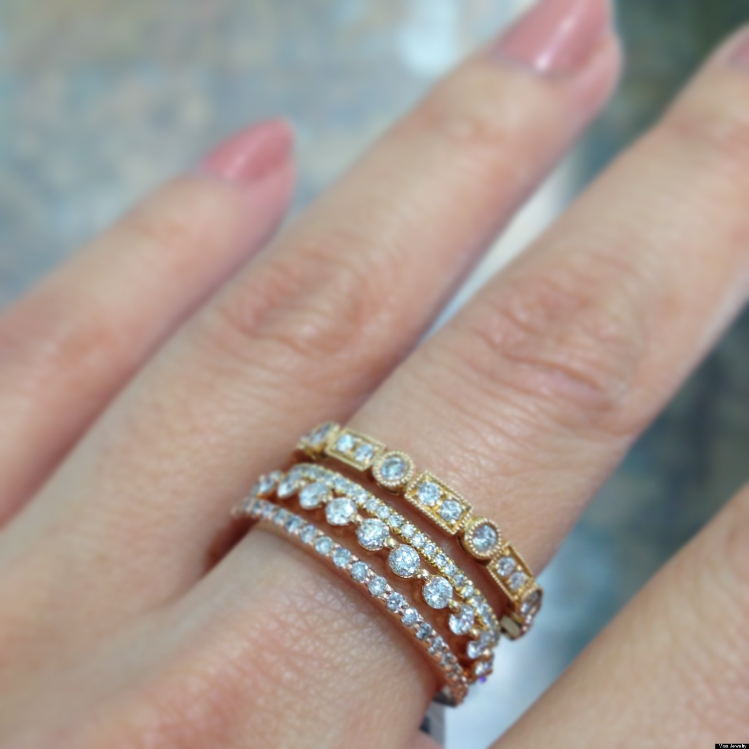 wedding the and approach bands stackable creative rings facebook stacking sensible to o