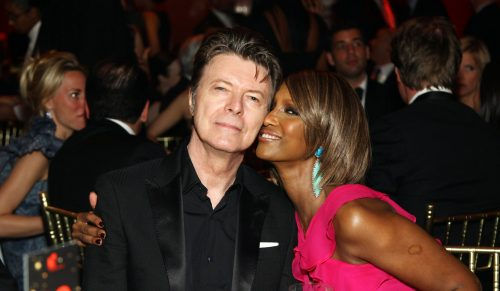 Veteran music star David Bowie has broken years of silence and speculation to release his first single and album in a decade. The glam-rock singer, who shot to fame in the late 60s with Space Oddity, has released, January 8, 2013, the recording Where Are We Now? on iTunes to coincide with his 66th birthday. A follow-up album called The Next Day is set to be released in March. Bowie has not performed live since 2006 and has rarely been seen in public since then, leading to rumours of possible ill-health which were denied by his spokesman. File Photo : David Bowie and Iman attending the Fifth Annual DKMS Gala at Cipriani Wall Street. DKMS. DKMS is the world's largest marrow donor center in the fight against Leukemia in New York City, NY, USA, April 28, 2011. Photo by Sara Jaye Weiss/Startraks/ABACAPRESS.COM