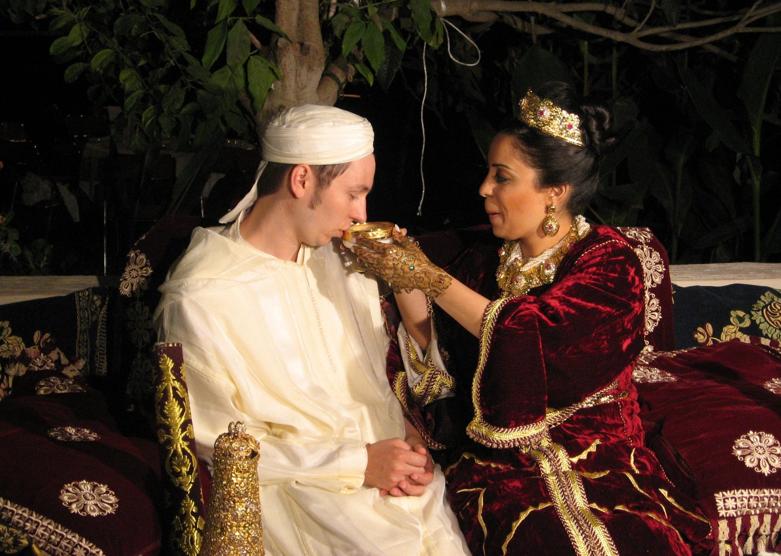 Moroccan dating traditions