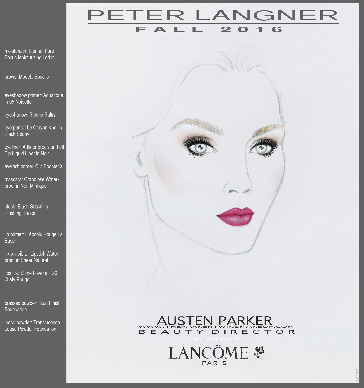 Peter Langner Makeup Look
