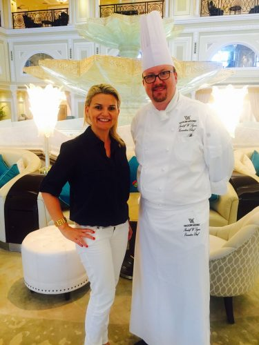 waldorf astoria rak chef