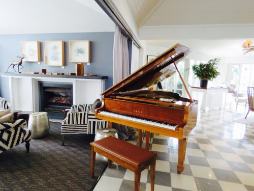 Lake House Daylesford piano
