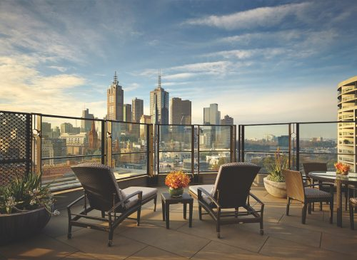 The Langham Melbourne terrace room