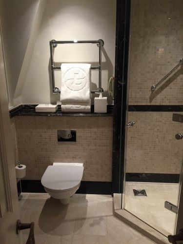 Langham London Room Bathroom
