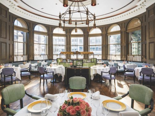 Langham London Roux at The Landau (credit Langham)