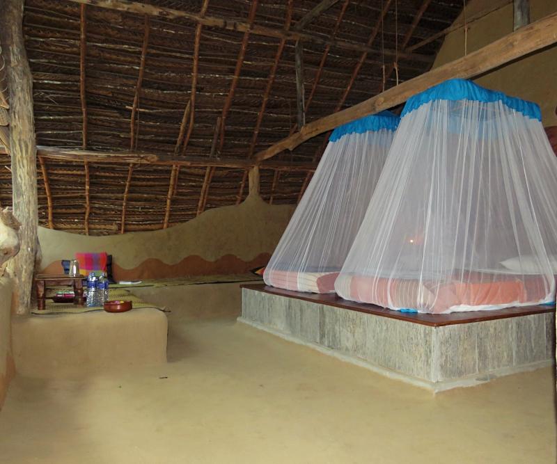 Ulpotha hut double