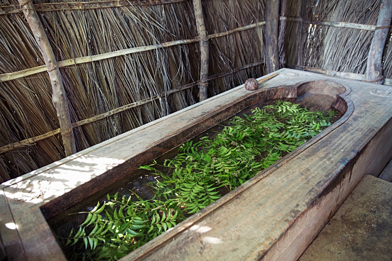 ulpotha ayurveda herbal bath (credit Ulpotha)