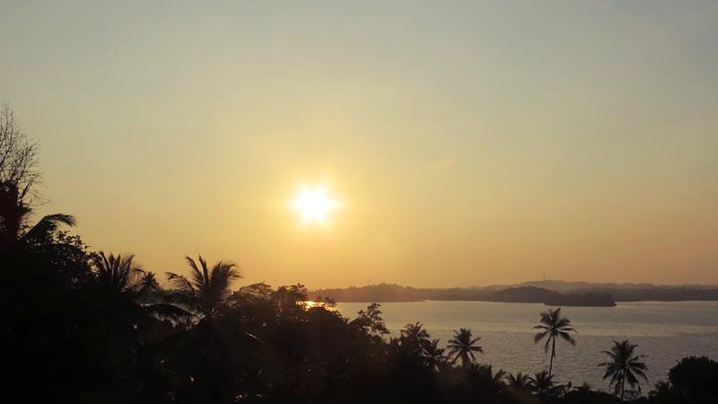 Tri Lanka sunset