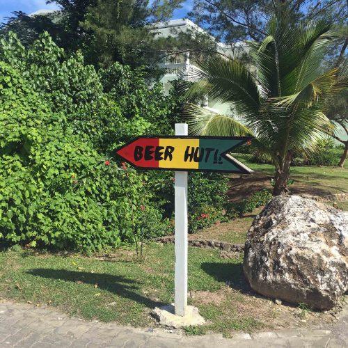 Beer Hut Sign