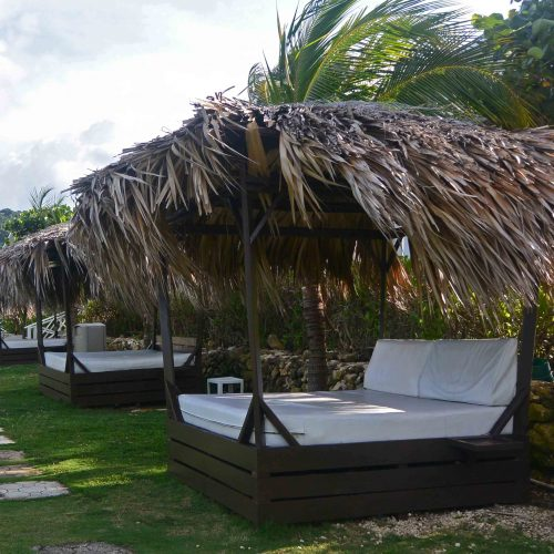 Row of Bali Beds