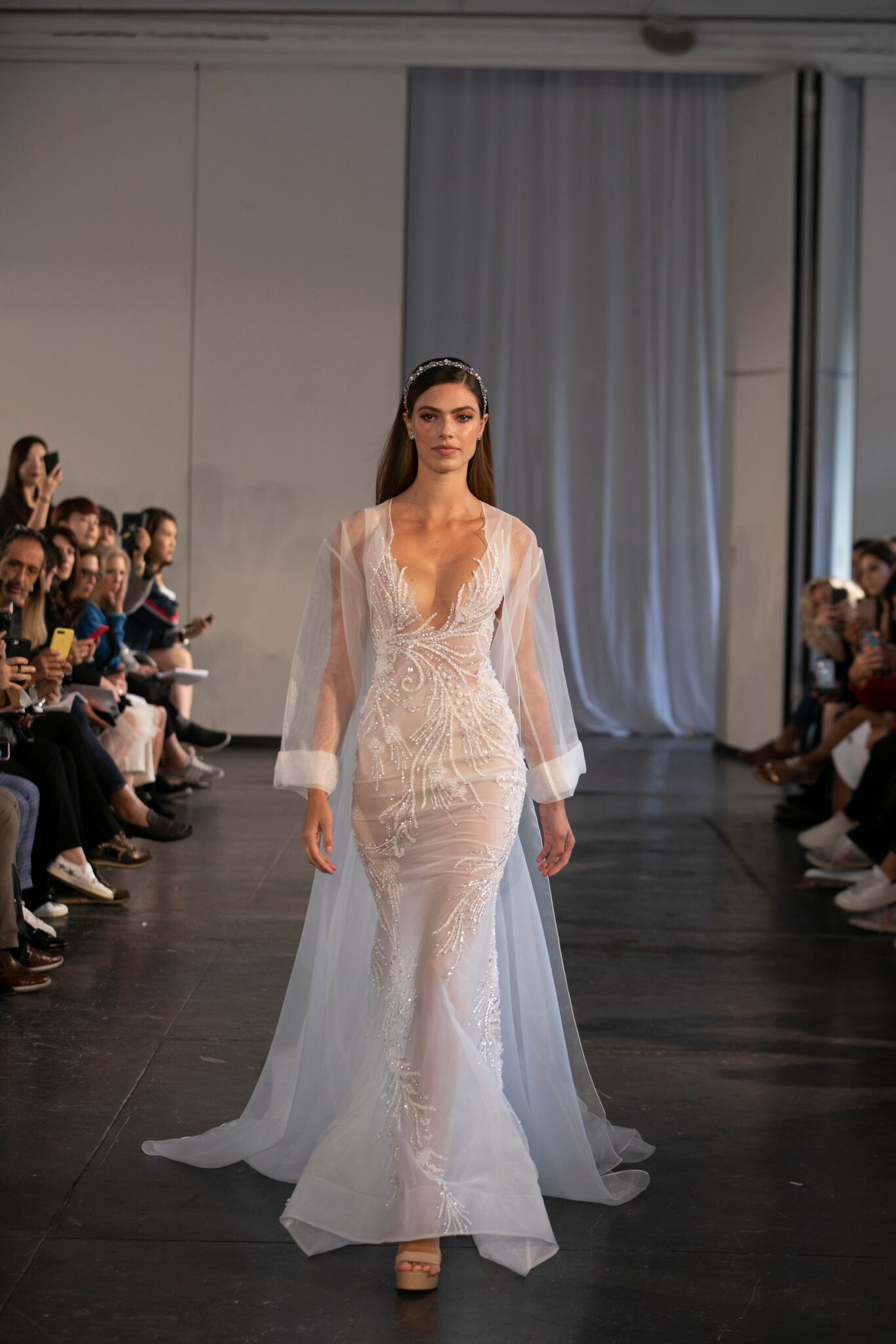 Nybfw Making The Modern Bride Feel And Look Y Is Berta S Specialty