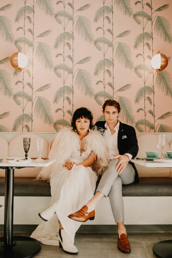 A Tropical-Chic Wedding at Bear and Joey